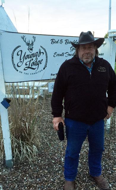 Hunter at Young's Lodge